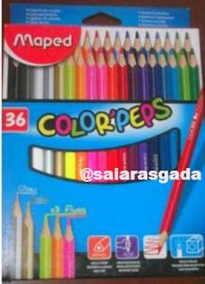 lápis de cor Maped - resenha