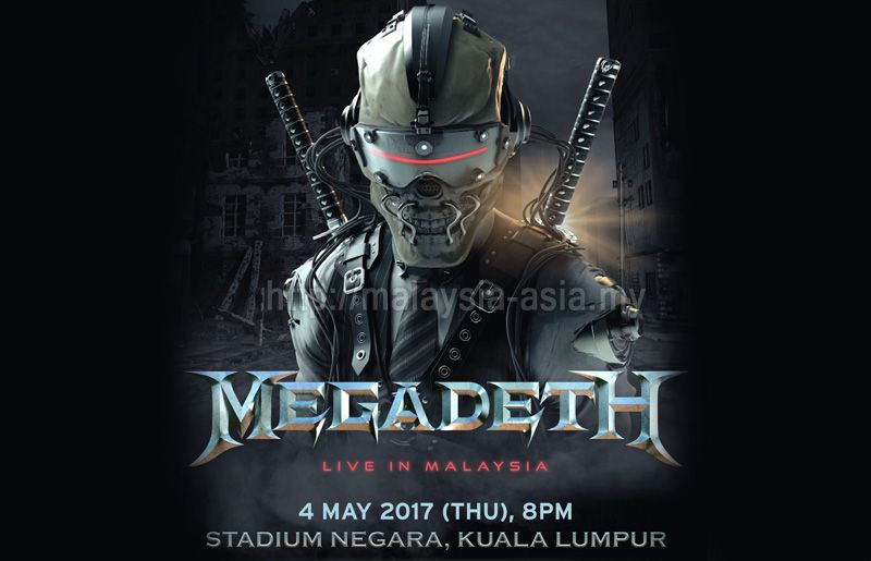 Megadeth Live in Malaysia 2017