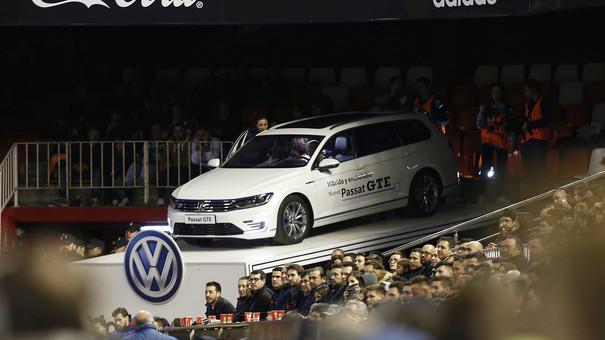 El Valencia y Volkswagen ofrecieron una experiencia única