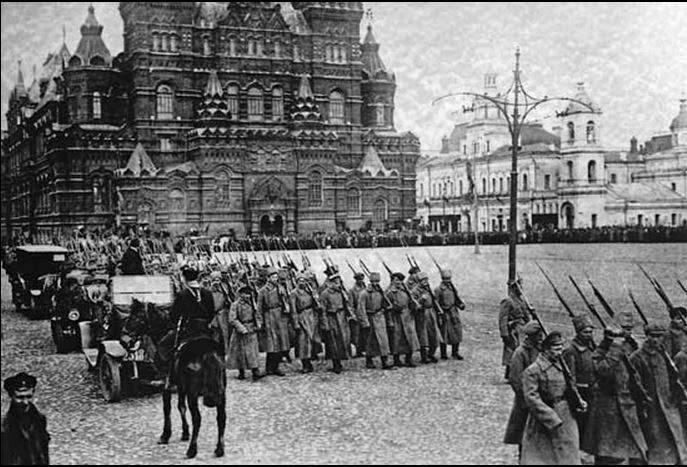 bolcheviques revolucion rusa