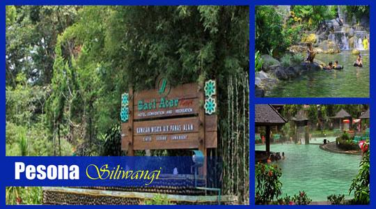 Pesona Alam Sari Ater Resort - Review Wisata Air Hangat, Harga dan Fasilitas