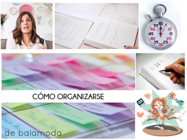 Organiza tu tiempo y tu trabajo diario