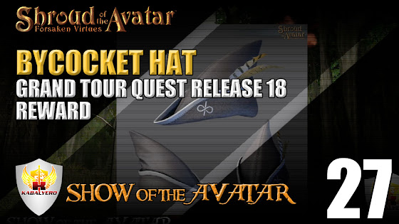 Grand Tour Quest - Release 18 - Reward - Bycocket Hat