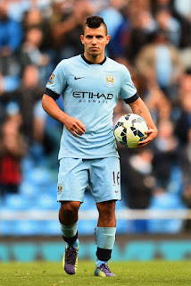 Aguero in Man City