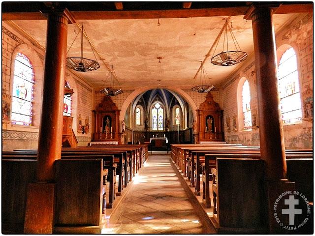 SAVIGNY (88) - Eglise Saint-Brice (XIIe-XXe siècles)