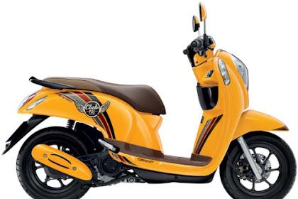 Honda Scoopy Full Model Change (FMC) dengan kode K93A