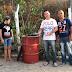 Vereador cearense inaugura tonel de lixo e grava vídeo mostrando o feito