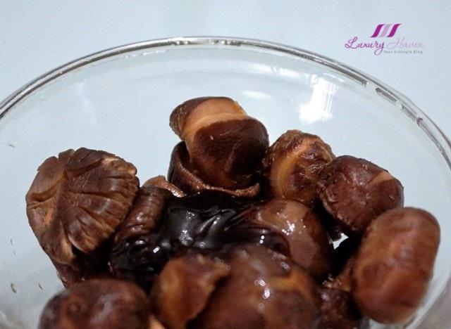 asia food chinese flower mushrooms recipe