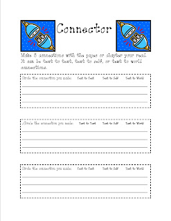 Charmed In Third Grade: Literature Circle Worksheets