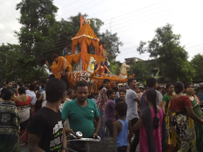 Kushmandi Ratha Yatra Live Picture