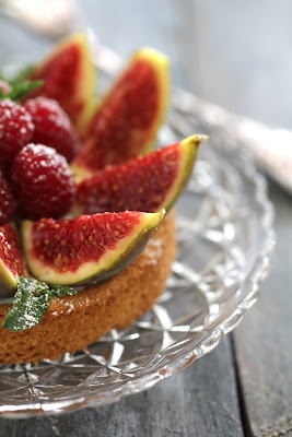 figues , dessert , sablé breton