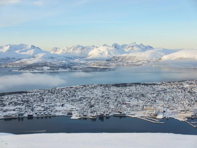 aurora boreal en Noruega Tromso
