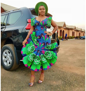 Mercy Aigbe's Outfit Is All Shades Of Beautiful