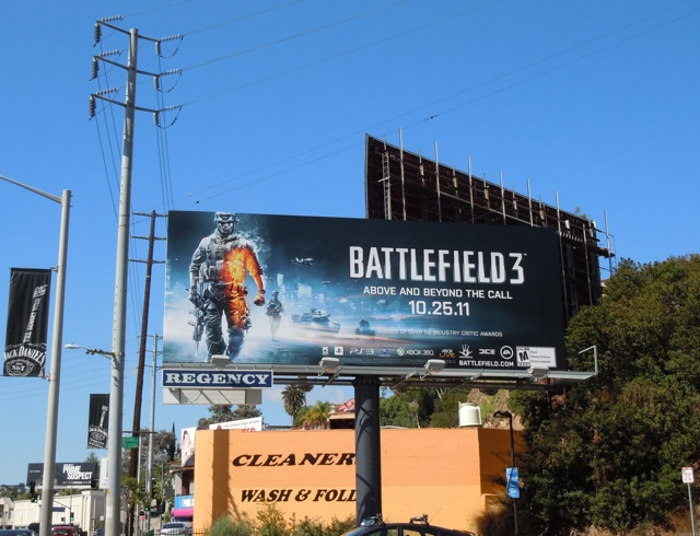 Battlefield 3 billboard