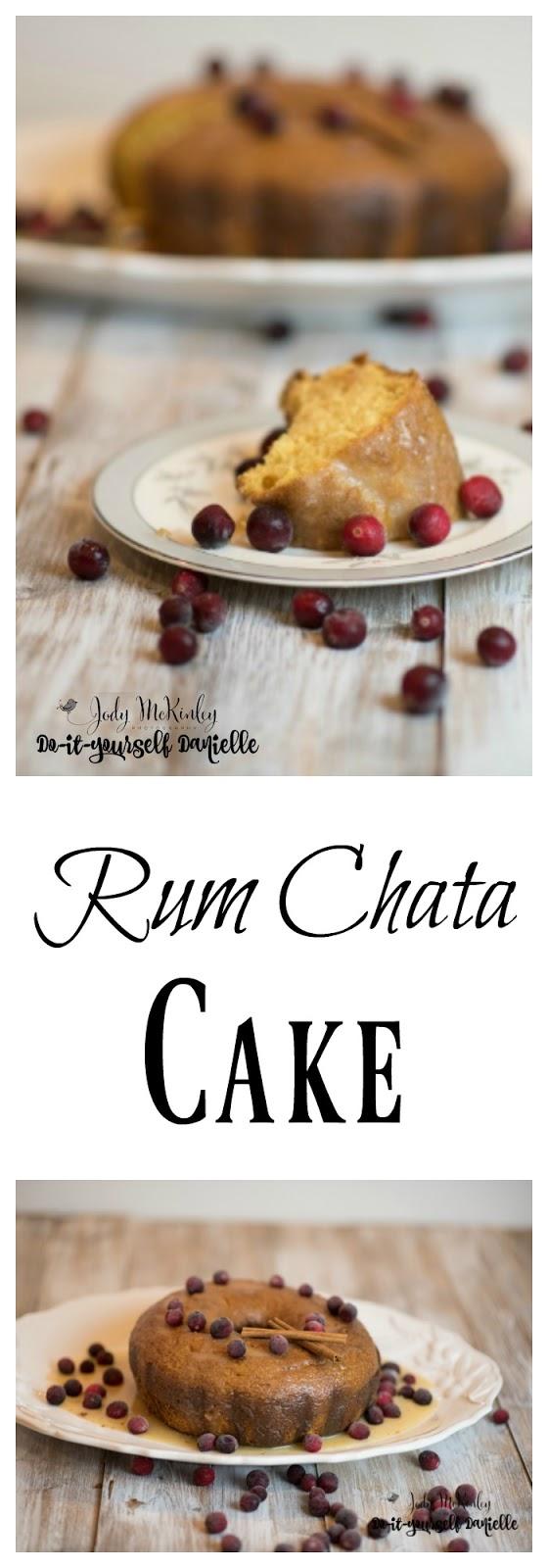 How to make Rum Chata Cake.