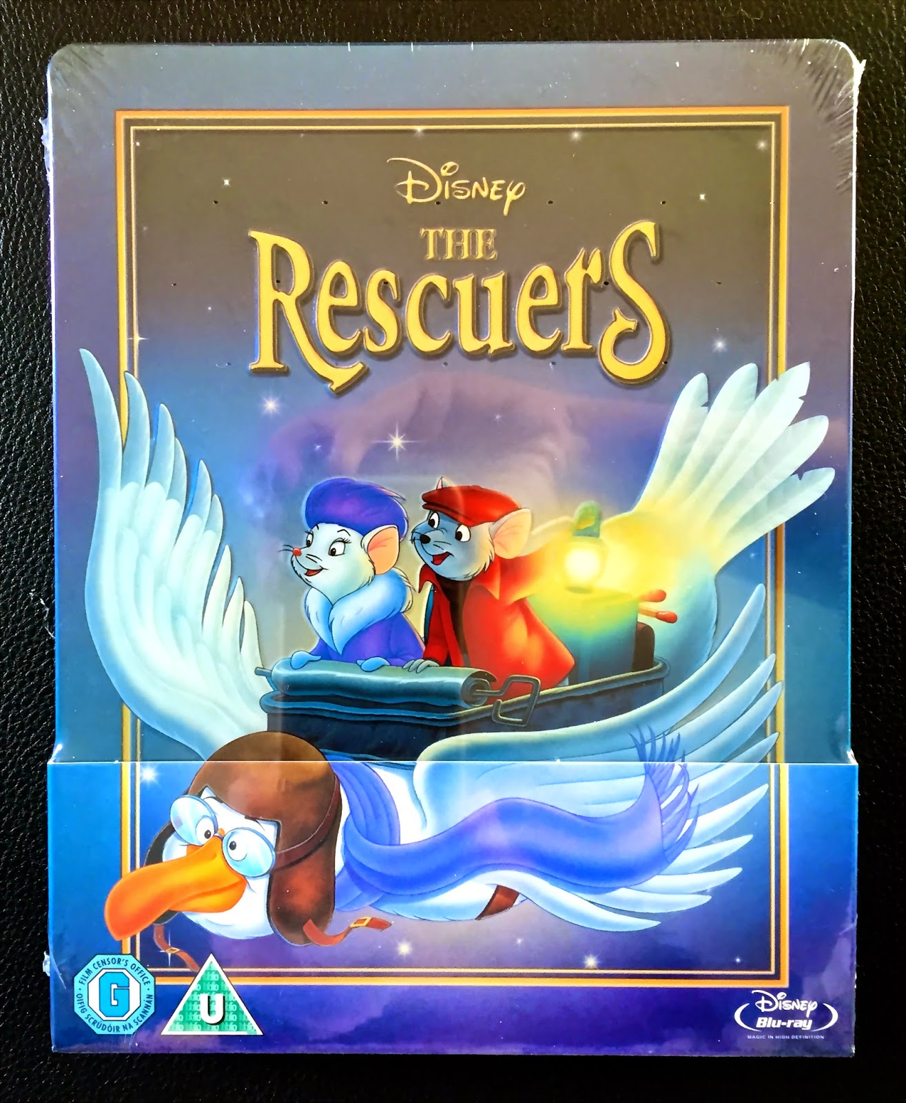 Limited Edition Disney Steelbook Blu-ray, The Rescuers