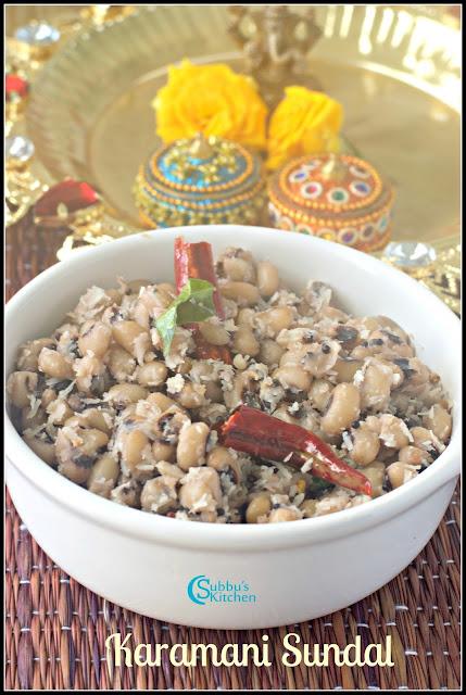 Karamani Sundal(Perum Payiru Sundal)