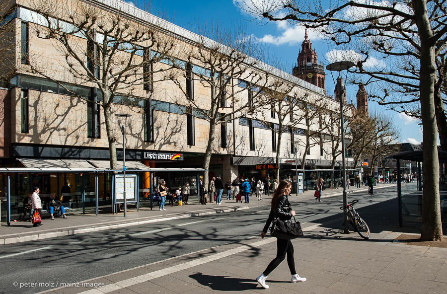 Sperrung Innenstadt Mainz