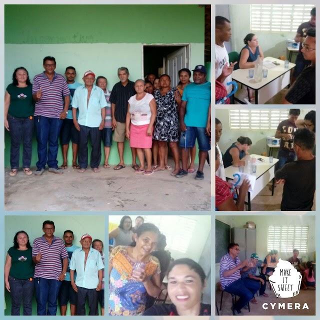 Cícero do Cabana participa de reunião com assentados na zona rural de Elesbão e trata sobre títulos de posse de terras.