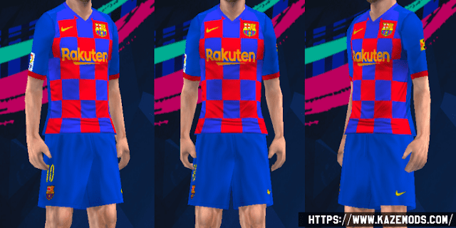 Barcelona Home Kit Leaked 2019/20 PES 2014 PSP (PPSSPP)