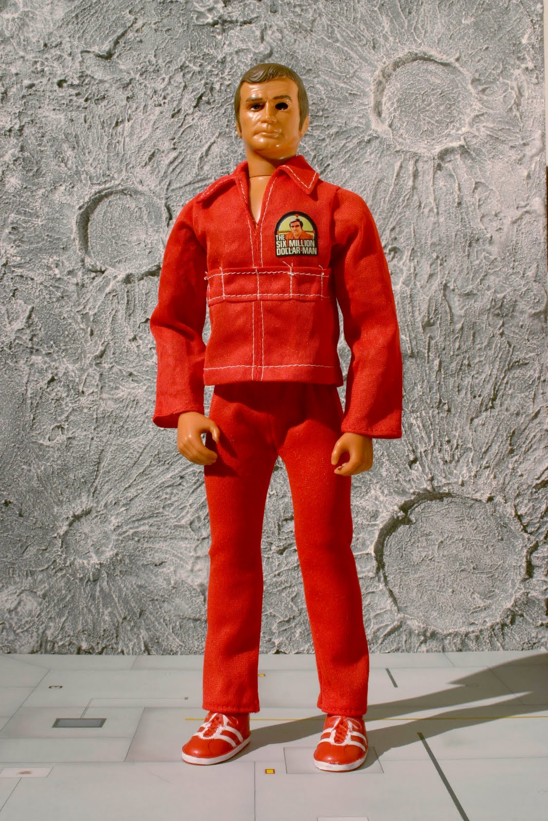The Six Different Types Of Obesity: MODELKIT WORKSHOP: The Six Million Dollar Man Figures : Kenner