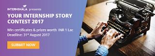 internshala internship story contest