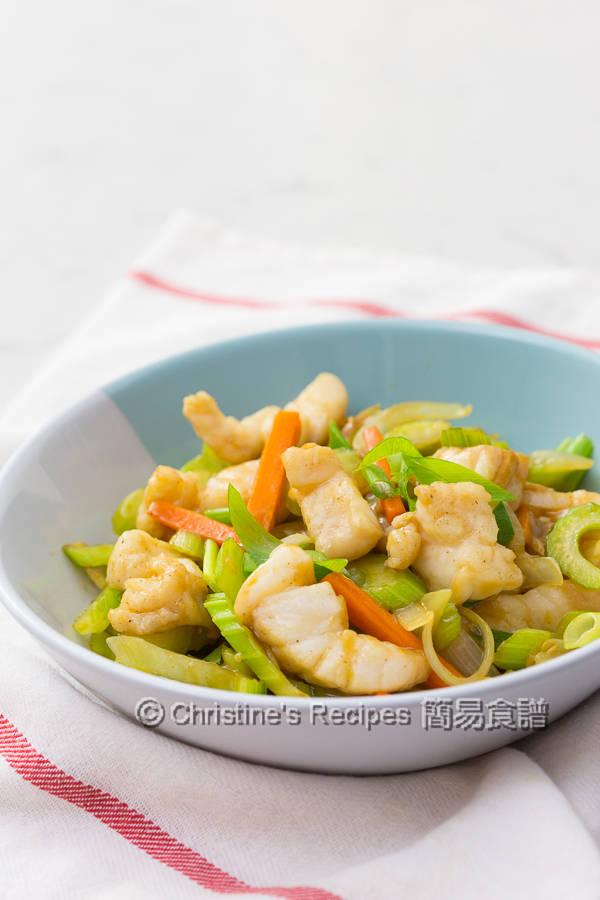 西芹炒魚柳 Celery Fish Stir Fry01