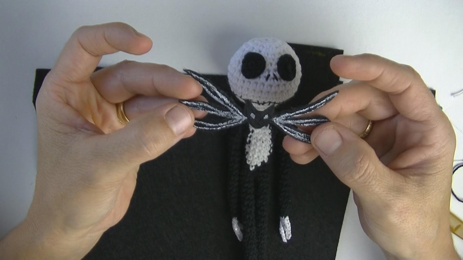 Jack Skellington Free Crochet Pattern • Spin a Yarn Crochet | 900x1600