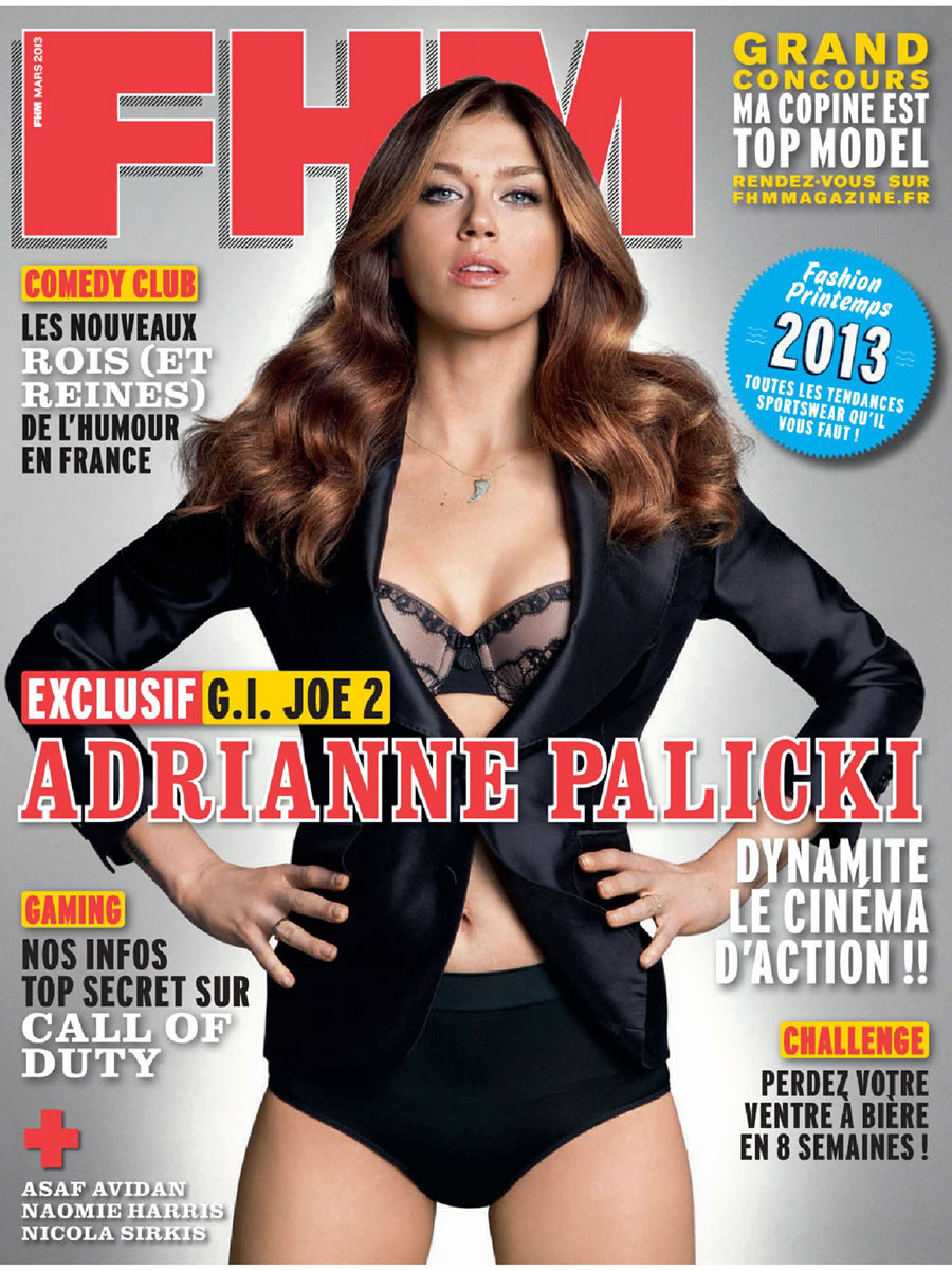 FHM Magazine France (March 2013