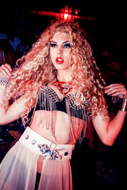 Katherine Versace Party Pics