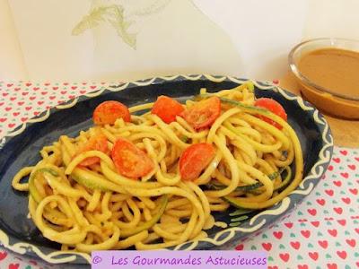 Comment faire des spaghettis de légumes ?