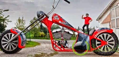 Sepeda Motor Terbesar di Dunia