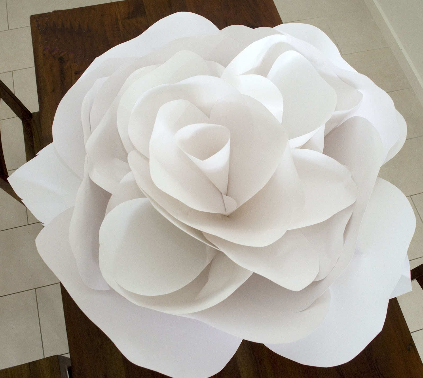 Grace Designs Giant Paper Flower Update