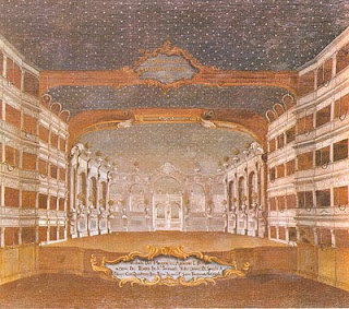 The Teatro San Samuele, where Farussi found work