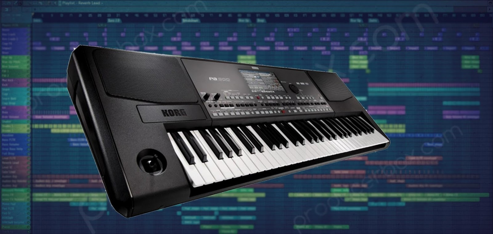 korg pa800 fl studio