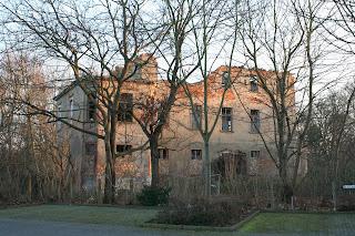 Ruine des Herrenhauses Rittergut Mockau