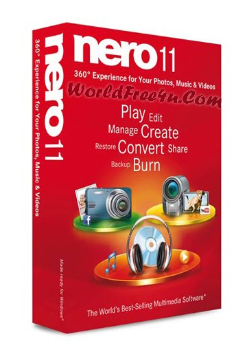 Cover Of Nero Burning Rom 11 Free Download Full Activated At worldofree.co