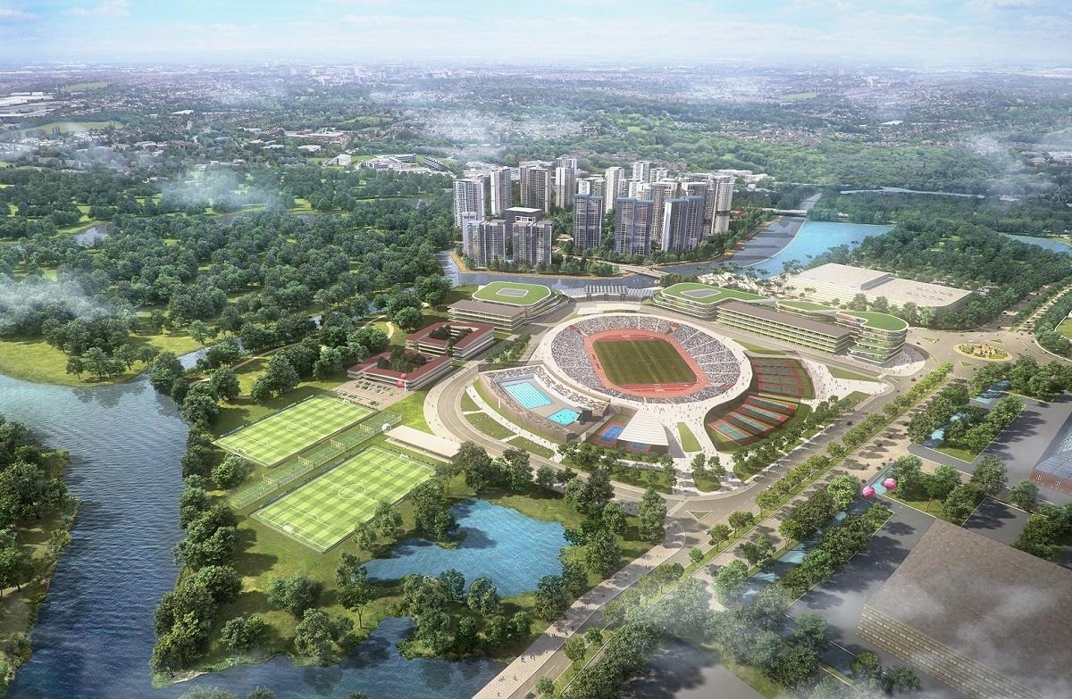 Phối cảnh Saigon Sport City