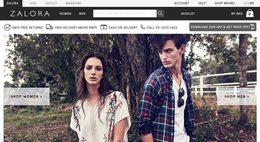 917817052a955 Top 10 online fashion stores in Malaysia