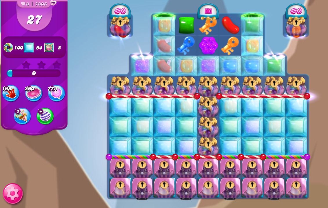 Candy Crush Saga level 7305
