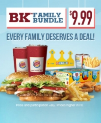 News Burger King New Bk Family Bundle