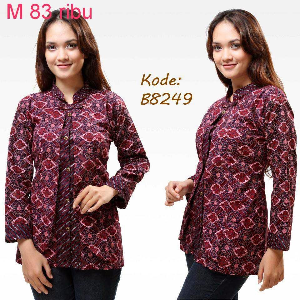 Download Baju Batik Wanita: Koleksi Model Baju Batik
