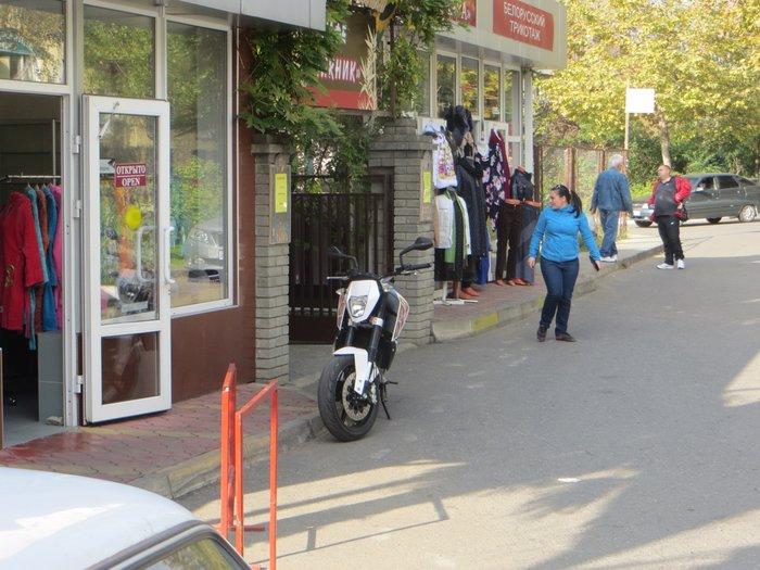 Китайский дорожный мотоцикл