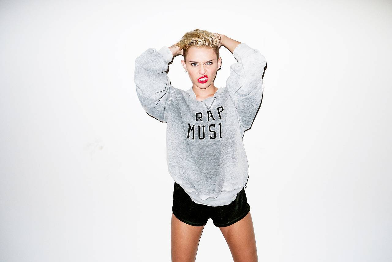 Cute Photography Love Miley Cyrus Hot Photoshoot 2013 By -2611