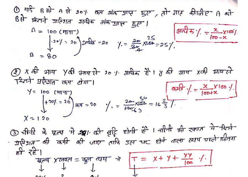 Maths Short Tricks In Hindi Pdf