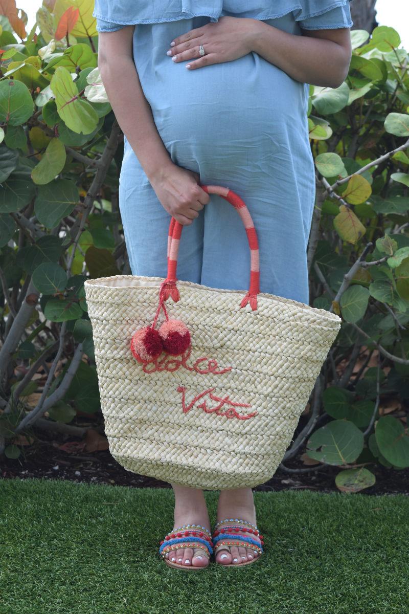Tropical Beach Resort Maternity Pregnant Style
