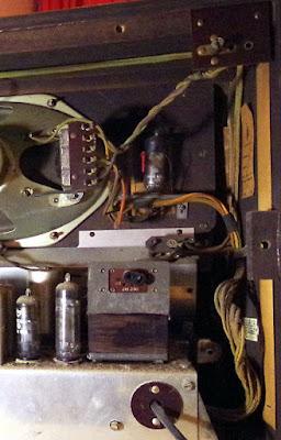 Bush VHF54 valve wireless
