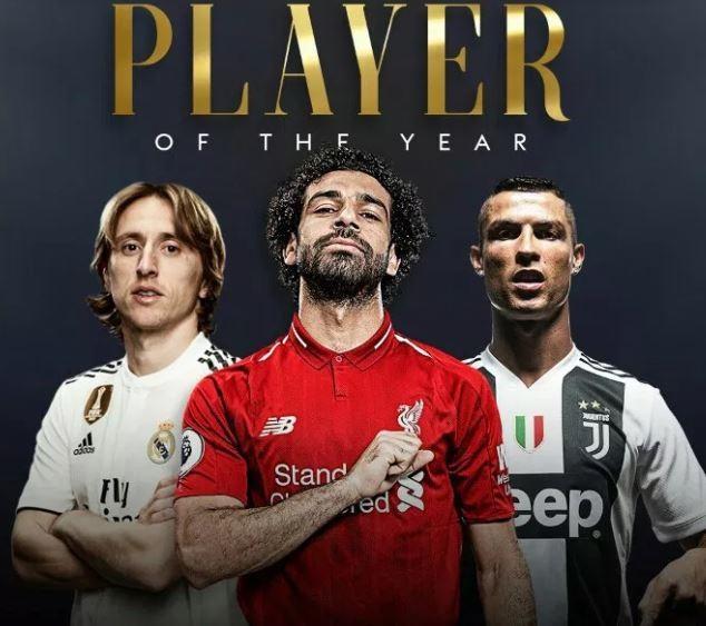 2018 FIFA best player award: Egypt's Salah listed with Ronaldo, Modric