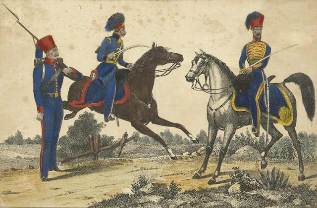 OTTOMAN SOLDIERS 1840