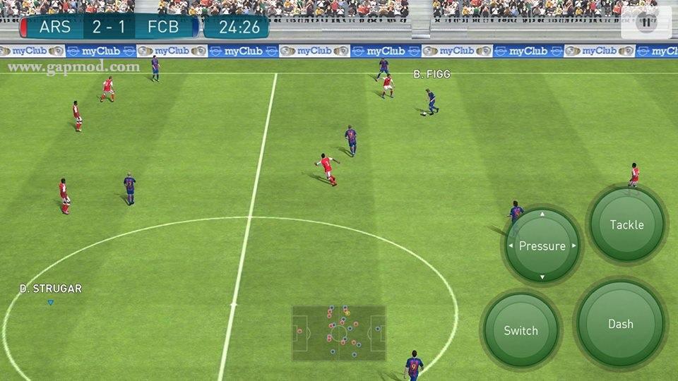 Pro evolution Soccer Apk Data